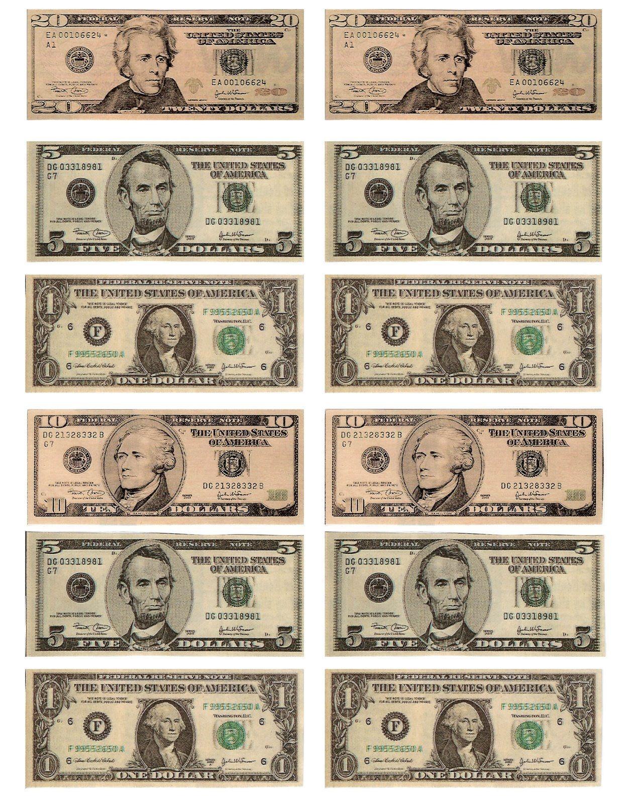Free Printable Fun For Everyone: Free Printable Play Money - Free Printable Play Money