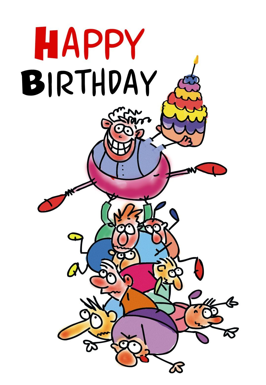Free Printable Funny Birthday Greeting Card | Gifts To Make | Free - Free Printable Funny Birthday Cards For Coworkers