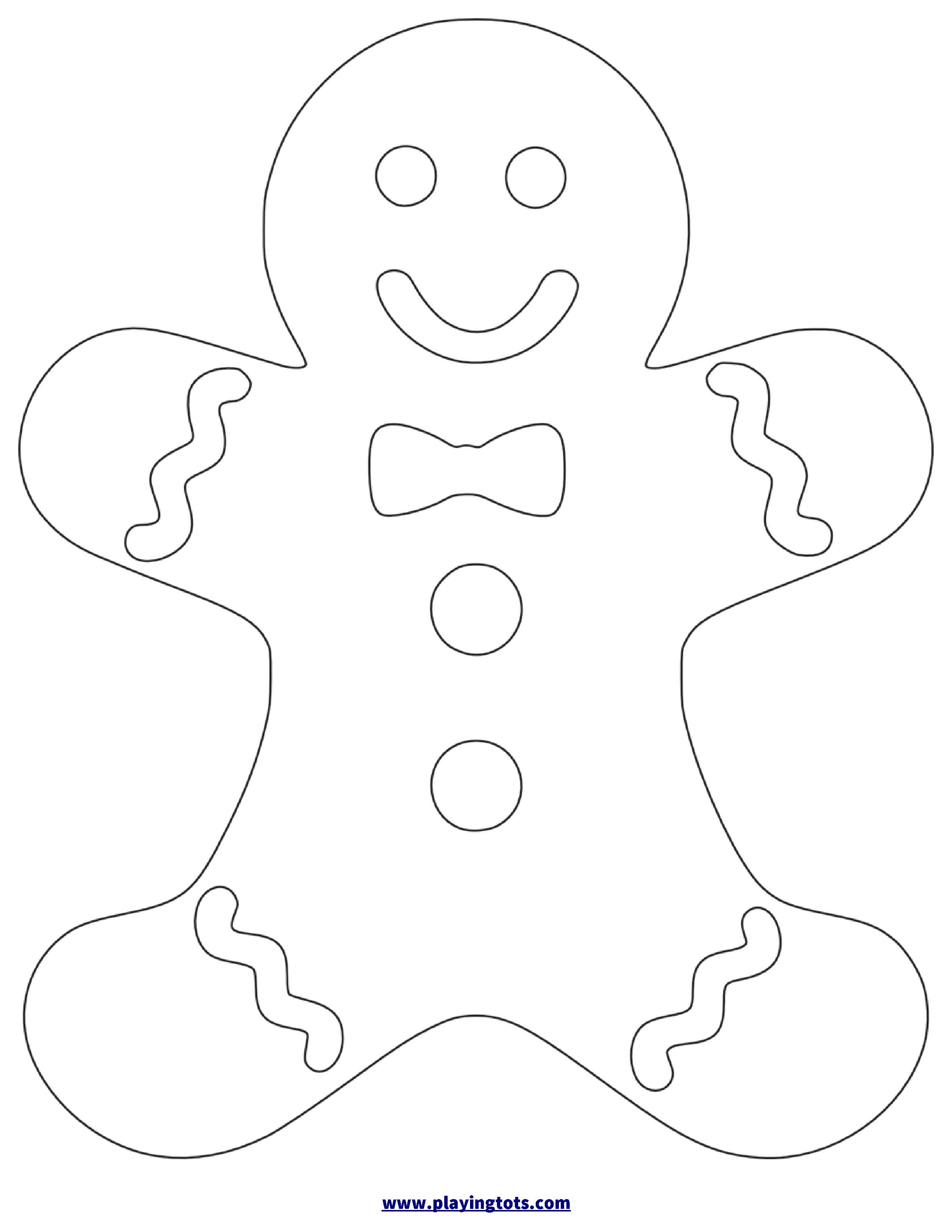 Free Printable Gingerbread Man Worksheet | Christmas Crafts - Free Printable Gingerbread Man Activities
