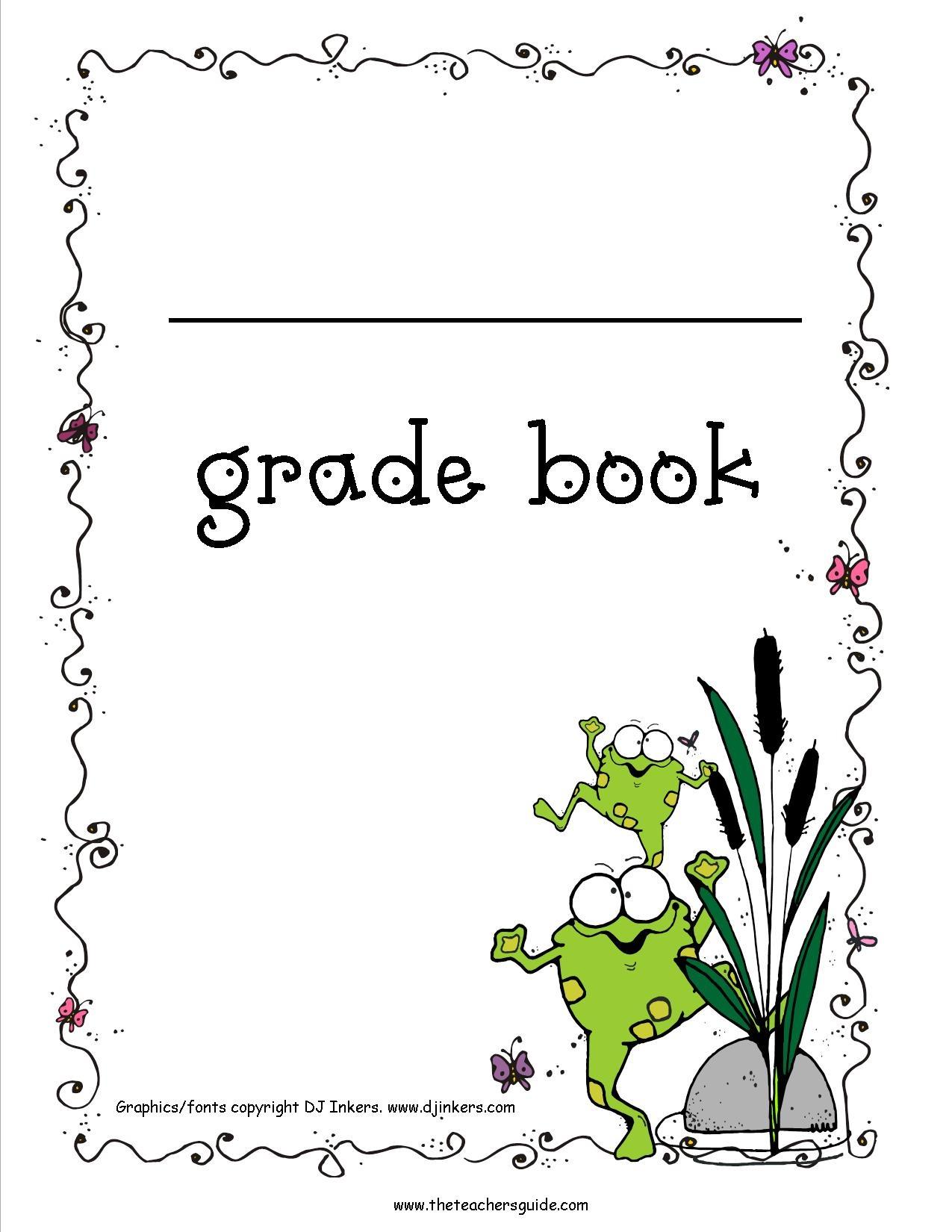 Free Printable Grade Books - Free Printable Grade Sheet