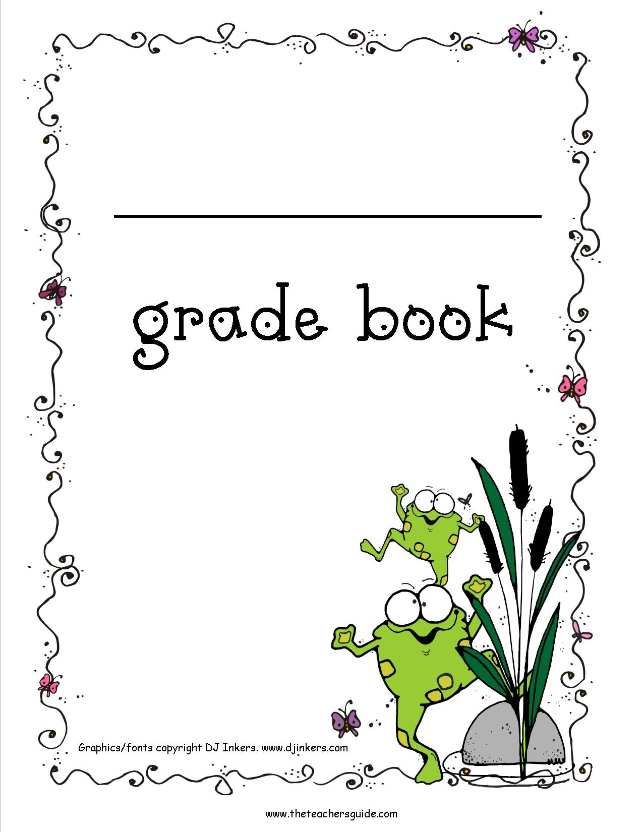 Free Printable Grade Books - Free Printable Gradebook