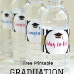 Free Printable Graduation Water Bottle Labels   Party Ideas   Free Printable Graduation Address Labels