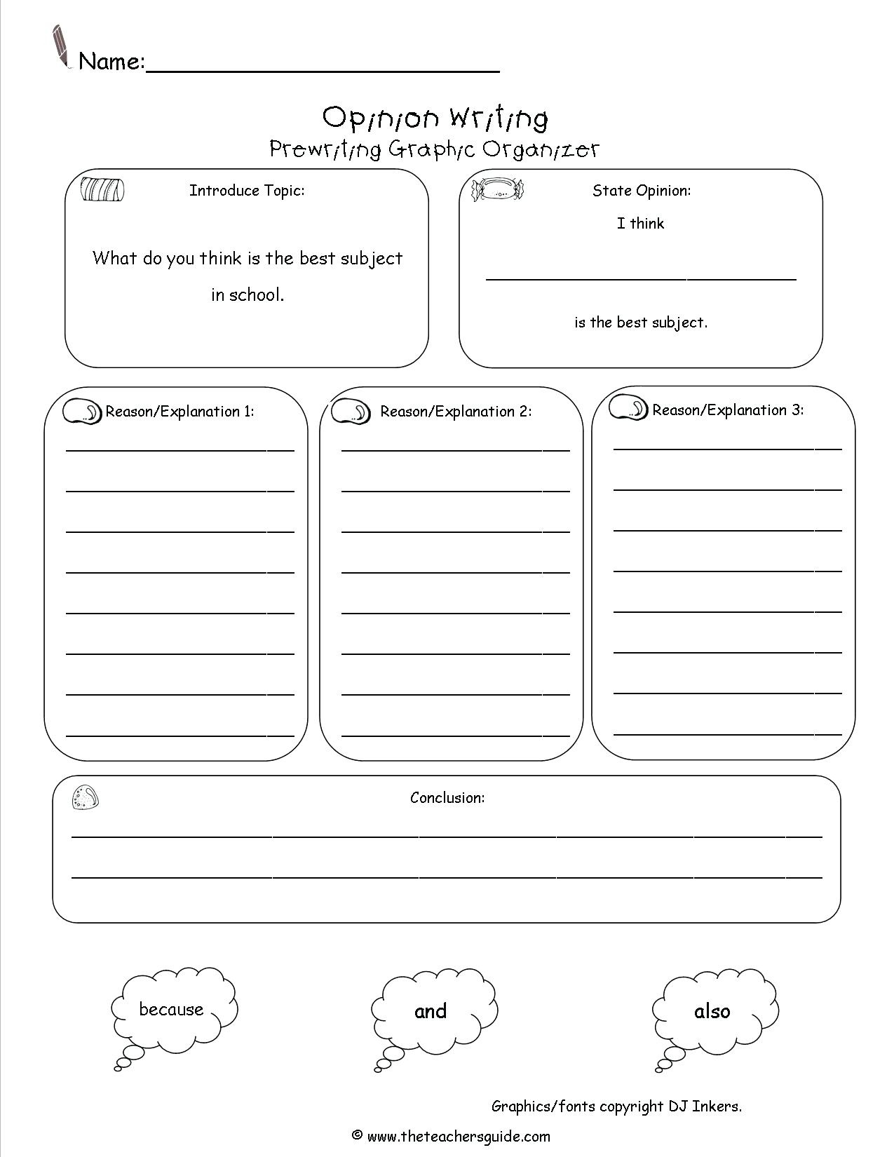 Free Printable Graphic Organizers (90+ Images In Collection) Page 1 - Free Printable Graphic Organizers
