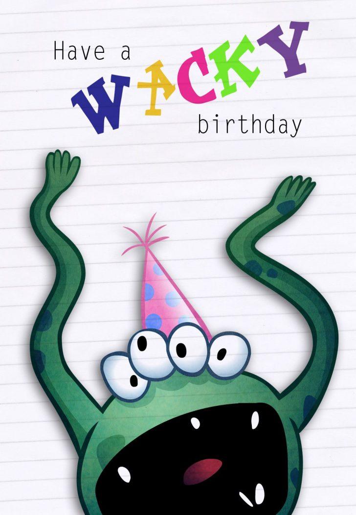 Free Printable Birthday Cards For Boys
