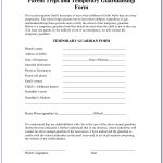 Free Printable Guardianship Forms Florida   Form : Resume Examples   Free Printable Child Guardianship Forms
