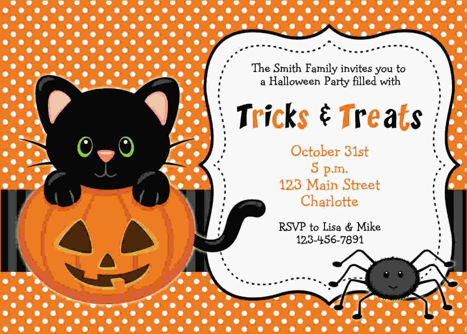 Free Printable Halloween Invitations   Free Printable Birthday - Free Online Halloween Invitations Printable