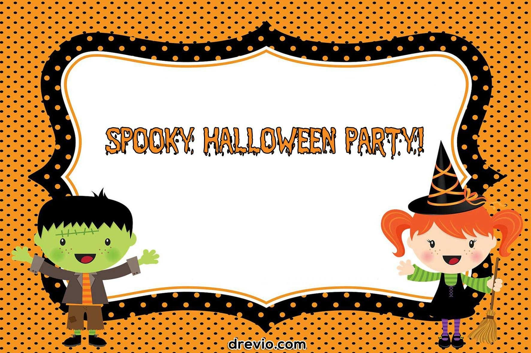 Free Printable Halloween Invitations Templates | Free Printable - Free Printable Halloween Invitations For Adults