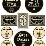 Free Printable Halloween Labels   Potions   Halloween Decor   Free Printable Halloween Labels