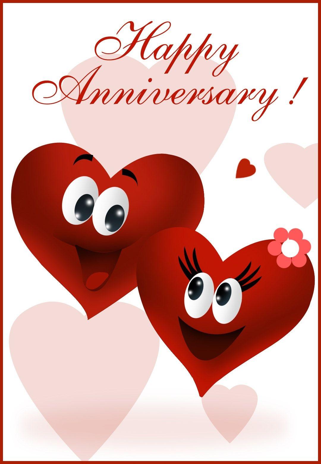 Free Printable Happy Anniversary Greeting Card | Anniversary | Happy - Free Printable Anniversary Cards