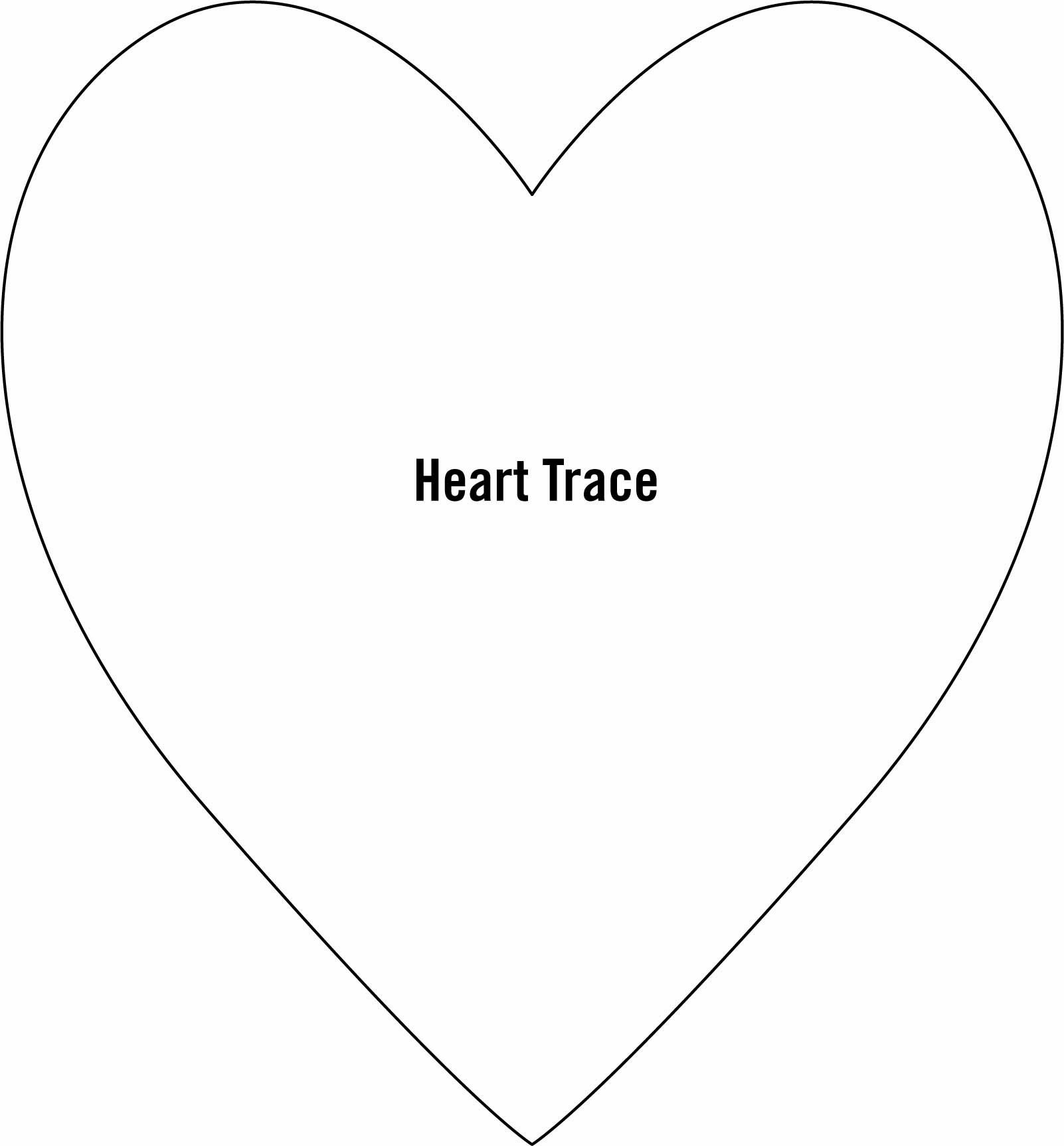 Free Printable Heart Templates (71+ Images In Collection) Page 2 - Free Printable Heart Templates