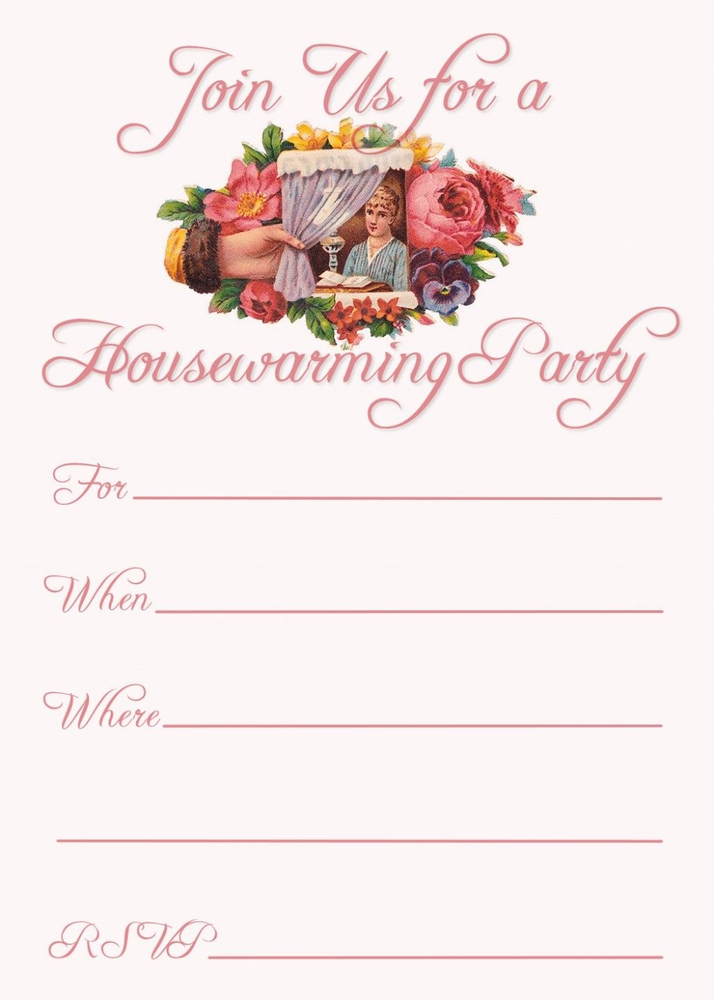 Free Printable Housewarming Party Invitations | Housewarming - Free Printable Housewarming Invitations Cards