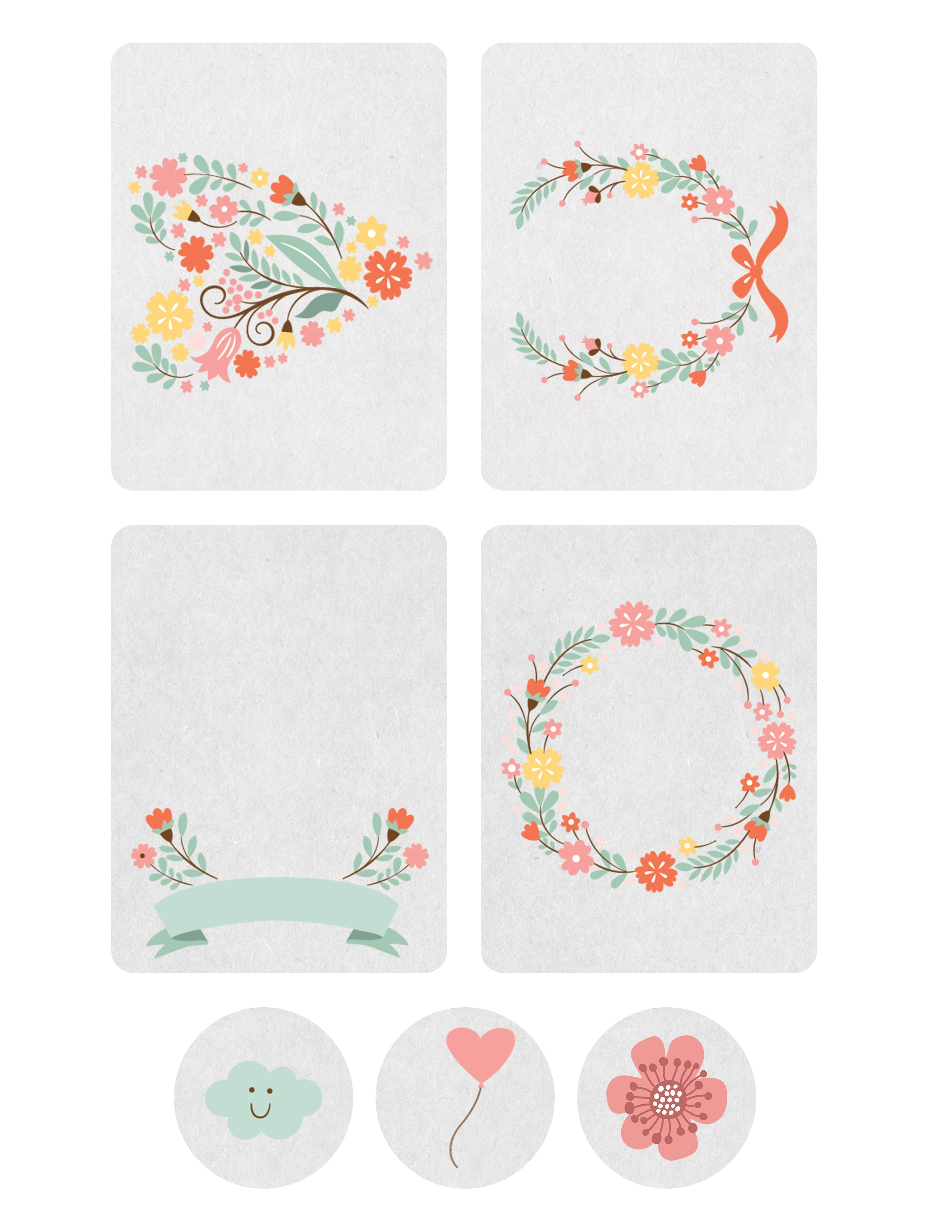 Free Printable Journaling Cards And Some Little Known Facts - The - Free Printable Picture Cards