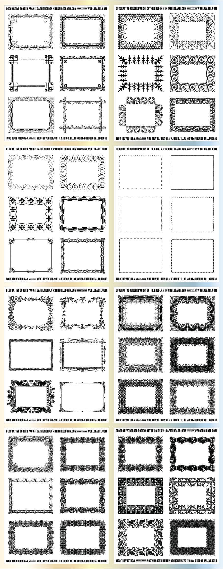 Free Printable Labels & Templates, Label Design @worldlabel Blog - Fancy Labels Printable Free