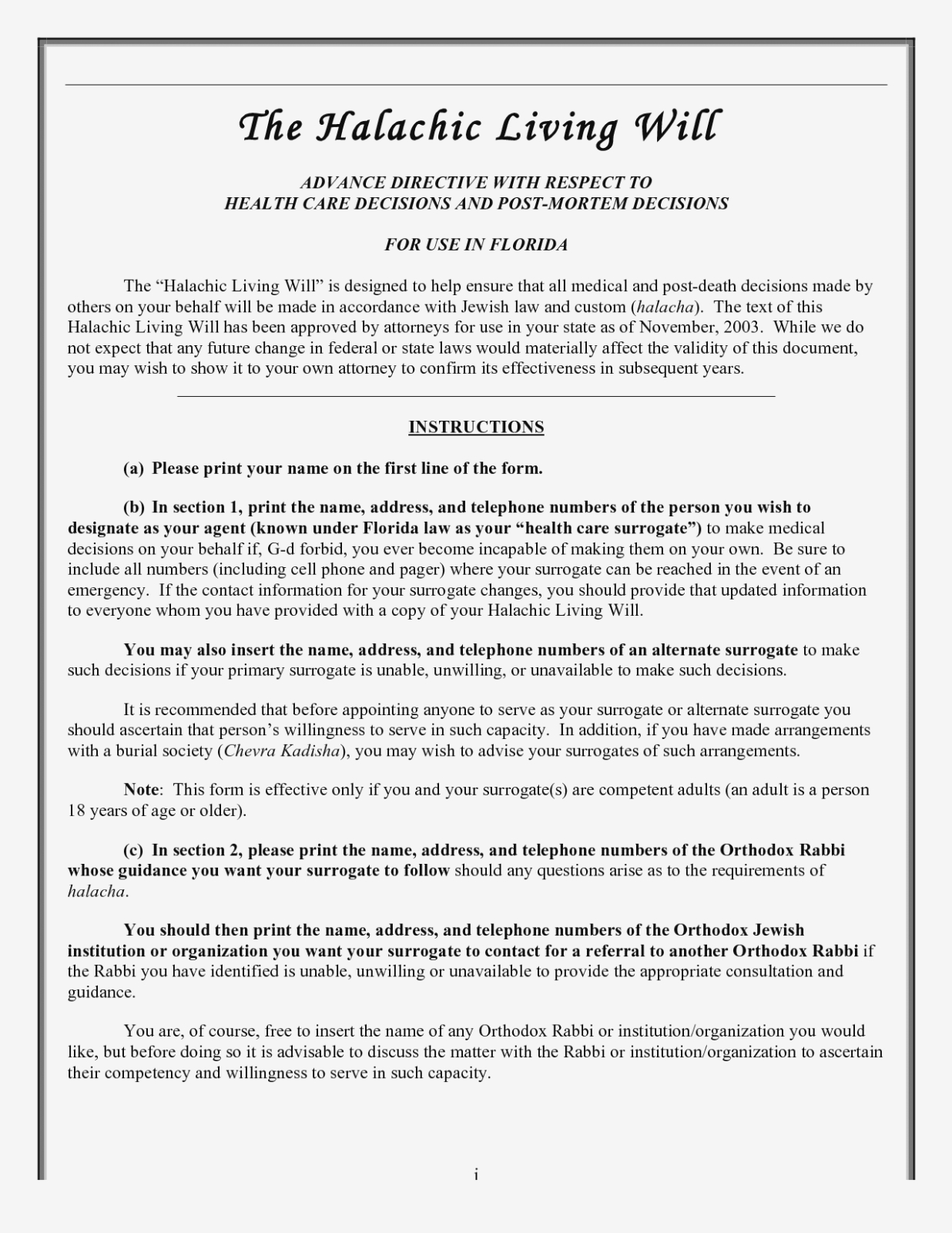 Free Printable Last Will And Testament Template Nfl Online Form Uk - Free Online Printable Living Wills