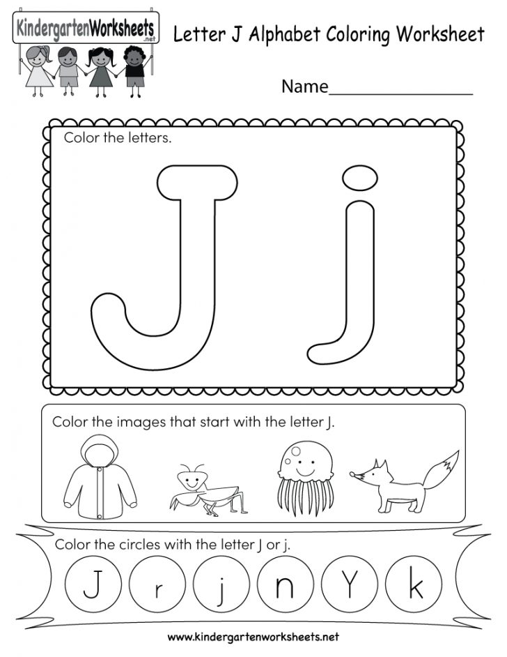 Free Printable Letter J