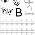 Free Printable Letter Tracing Worksheets For Kindergarten – 26   Free Printable Alphabet Worksheets For Kindergarten