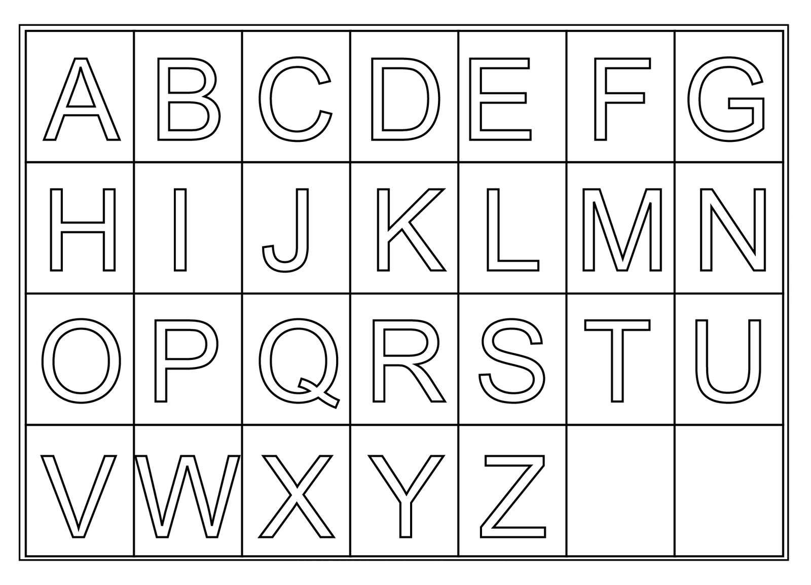 Free Printable Letters, Download Free Clip Art, Free Clip Art On - Free Printable Letters Az