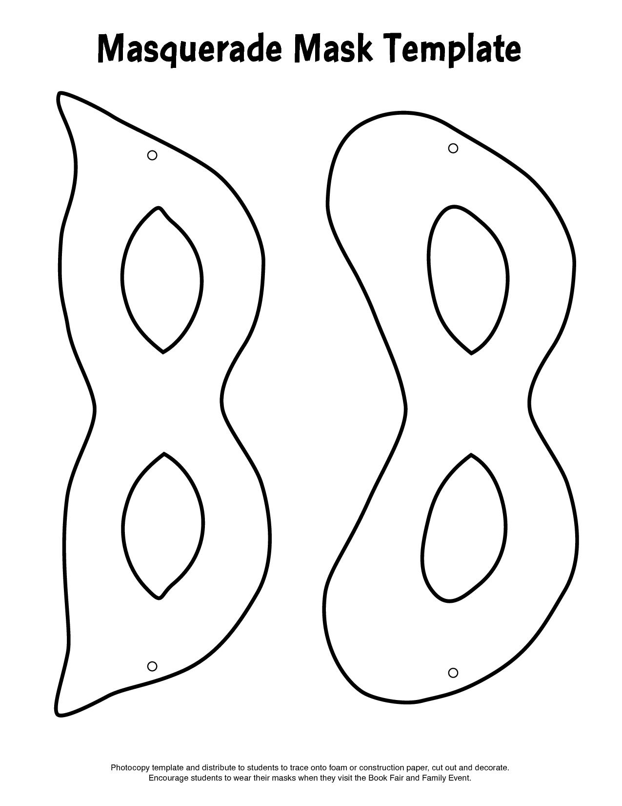 Free Printable Masquerade Masks - Babylon Yahoo! Search Results - Free Printable Paper Masks