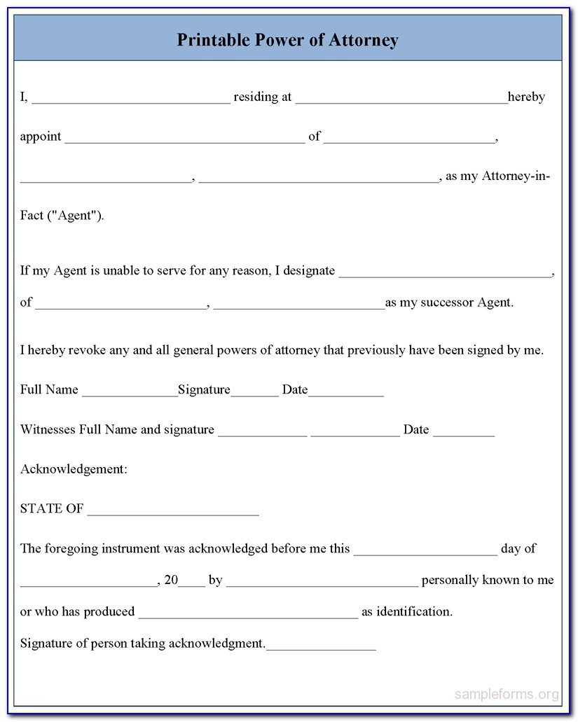 Free Printable Medical Power Of Attorney Form Alabama - Form - Free Printable Medical Power Of Attorney