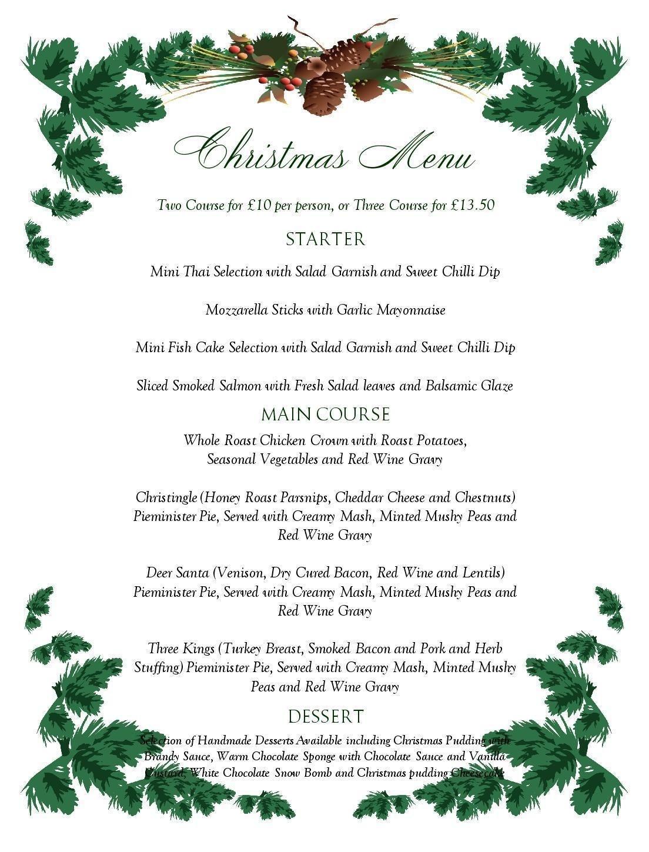 Free Printable Menu Templates Christmas Menu Templates Free Page Not - Christmas Menu Printable Template Free
