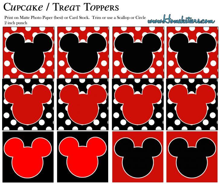 Free Mickey Mouse Printable Templates