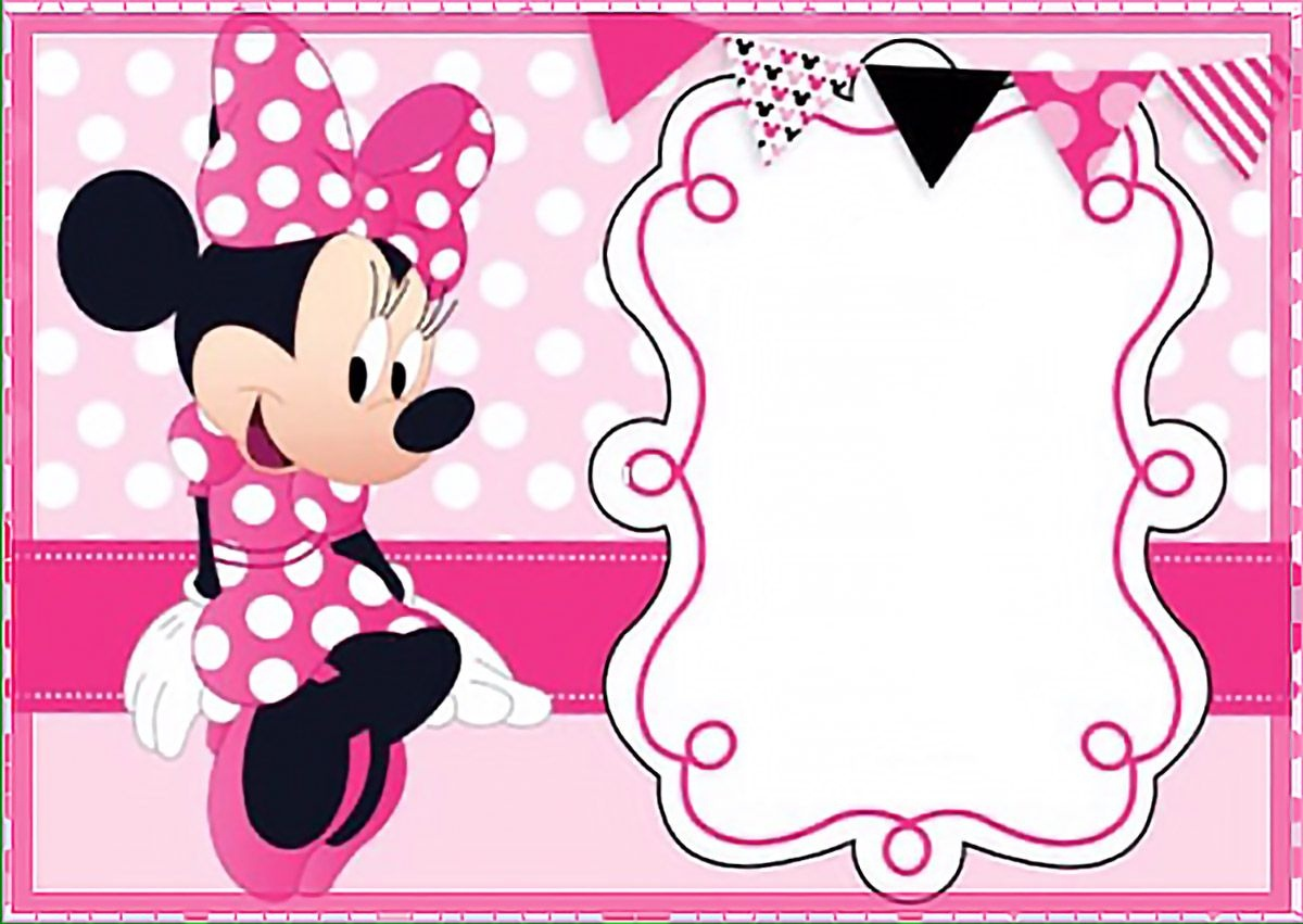 Free Printable Minnie Mouse Birthday Invitations - Tutlin.psstech.co - Free Printable Minnie Mouse Invitations