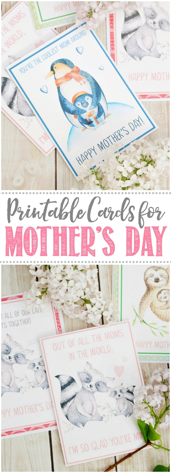 Free Printable Mother's Day Cards - Clean And Scentsible - Free Printable Mothers Day Cards To My Wife