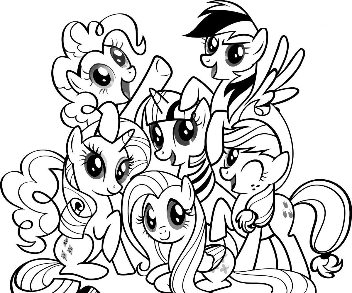 Free Printable My Little Pony Coloring Pages For Kids   Cool Stuff - Free Printable Coloring Pages Of My Little Pony