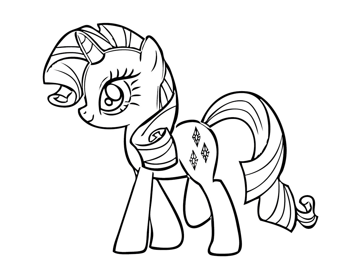 Free Printable My Little Pony Coloring Pages For Kids - Free Printable Coloring Pages Of My Little Pony