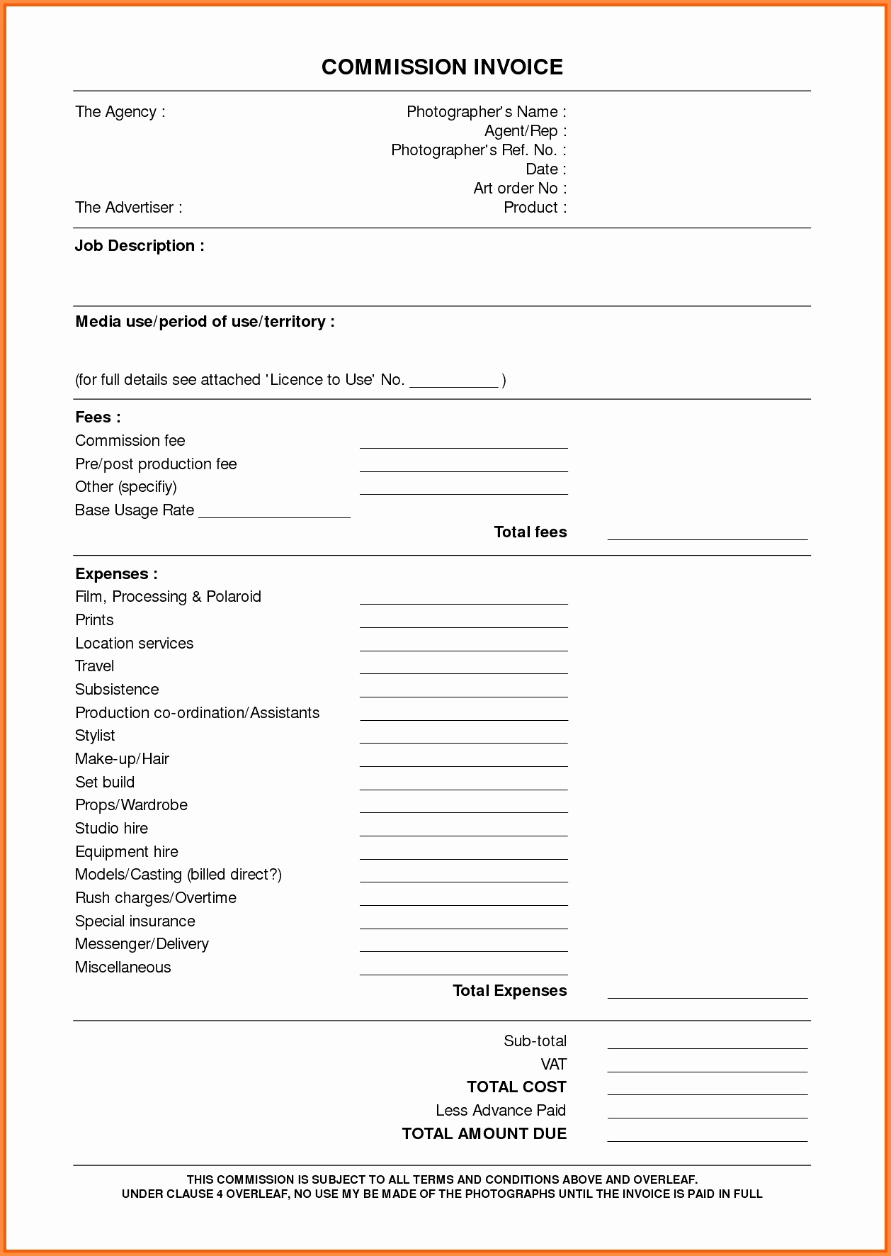 Free Printable Notary Invoice Template 50 Lovely Documents Ideas - Free Printable Documents