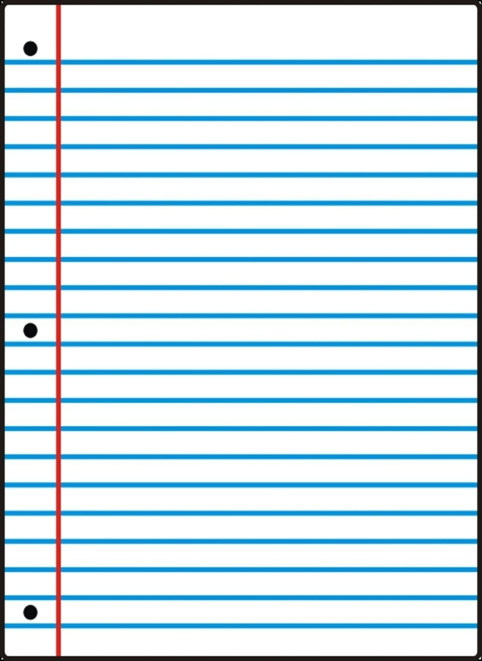 Free Printable Notebook Paper College & Wide Ruled Inside Wide Ruled - Free Printable Notebook Paper