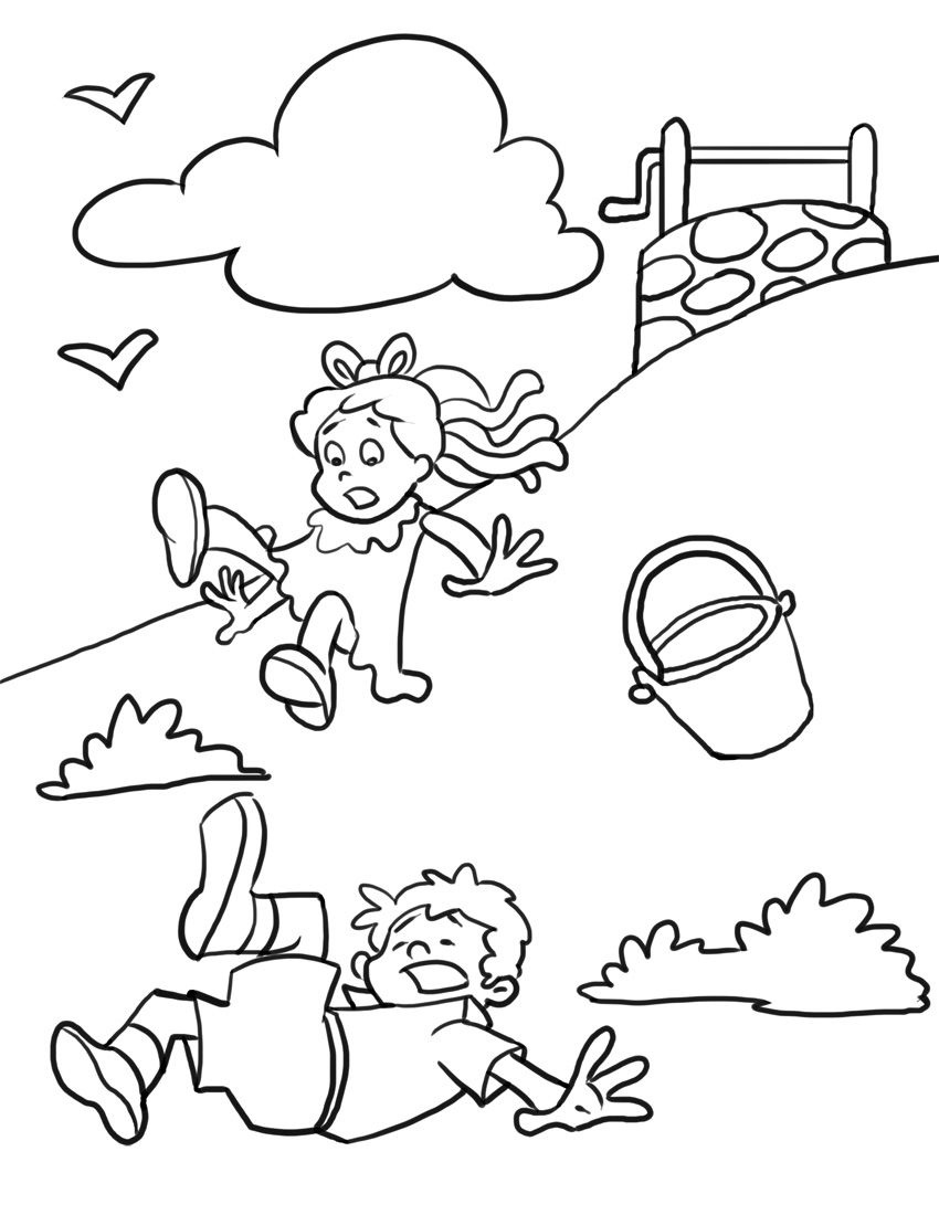 Free Printable Nursery Rhymes Coloring Pages For Kids | Color Sheets - Free Printable Nursery Rhyme Coloring Pages