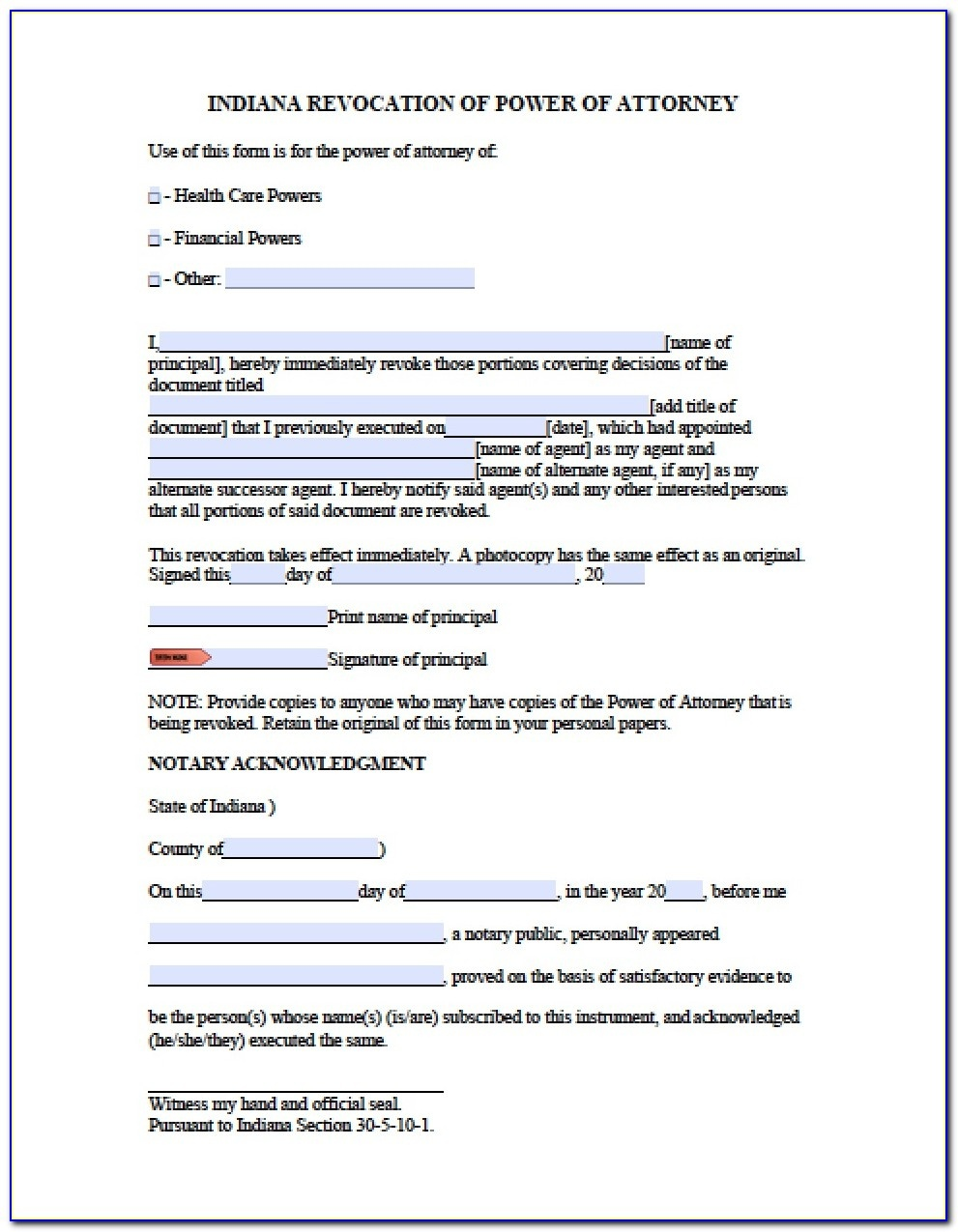 Free Printable Power Of Attorney Forms California - Form : Resume - Free Printable Power Of Attorney Form California