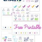 Free Printable Preschool Chore Charts | Kid Stuff | Chore Chart Kids   Free Printable Job Charts For Preschoolers