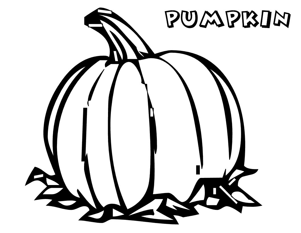 Free Printable Pumpkin Coloring Pages For Kids - Free Printable Pumpkin Coloring Pages