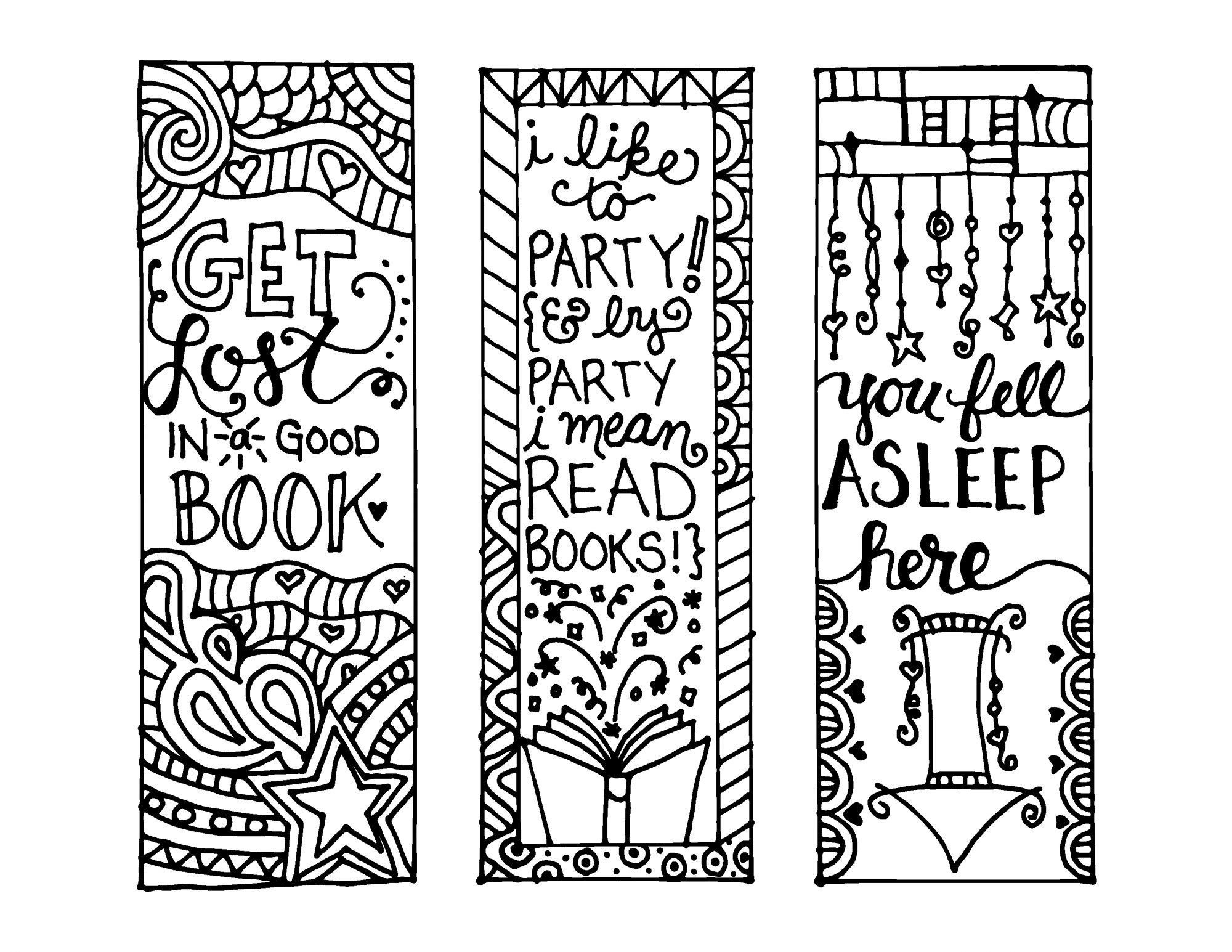 Free Printable Reading Bookmarks Black And White | Activity Shelter - Free Printable Christmas Bookmarks To Color