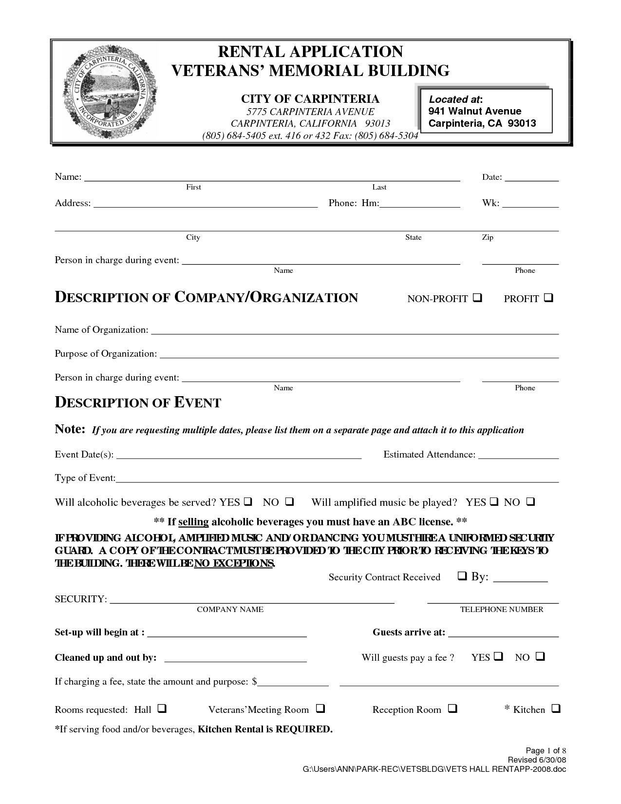 Free Printable Rental Agreement California   Shop Fresh - Free Printable California Residential Lease Agreement