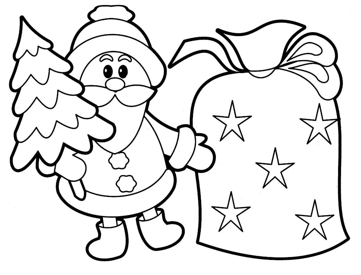 Free Printable Santa Claus Coloring Pages For Kids | Christmas - Xmas Coloring Pages Free Printable