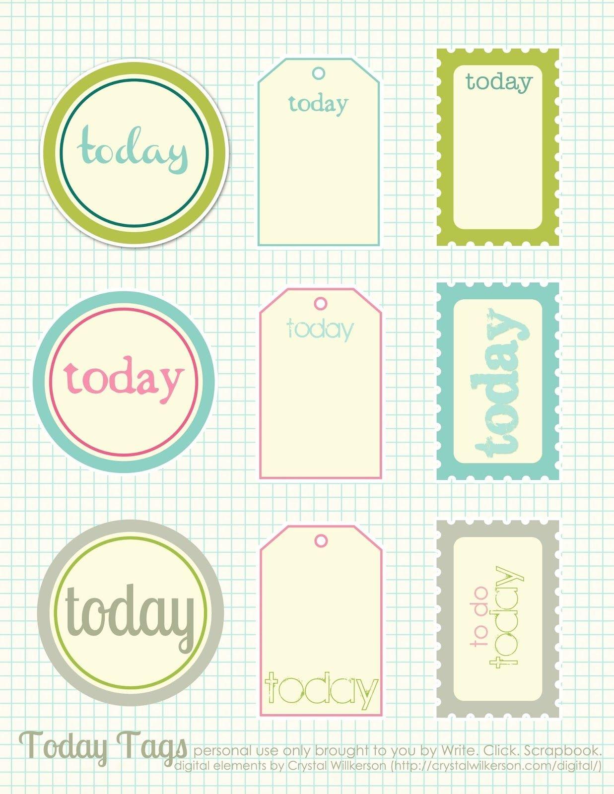 Free Printable Scrapbook Cutouts | Printable For All Topics - Free Printable Scrapbook Stuff