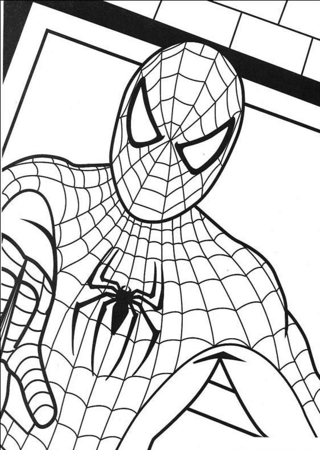 Free Printable Spiderman Coloring Pages For Kids | Coloring Pages - Free Printable Spiderman Coloring Pages