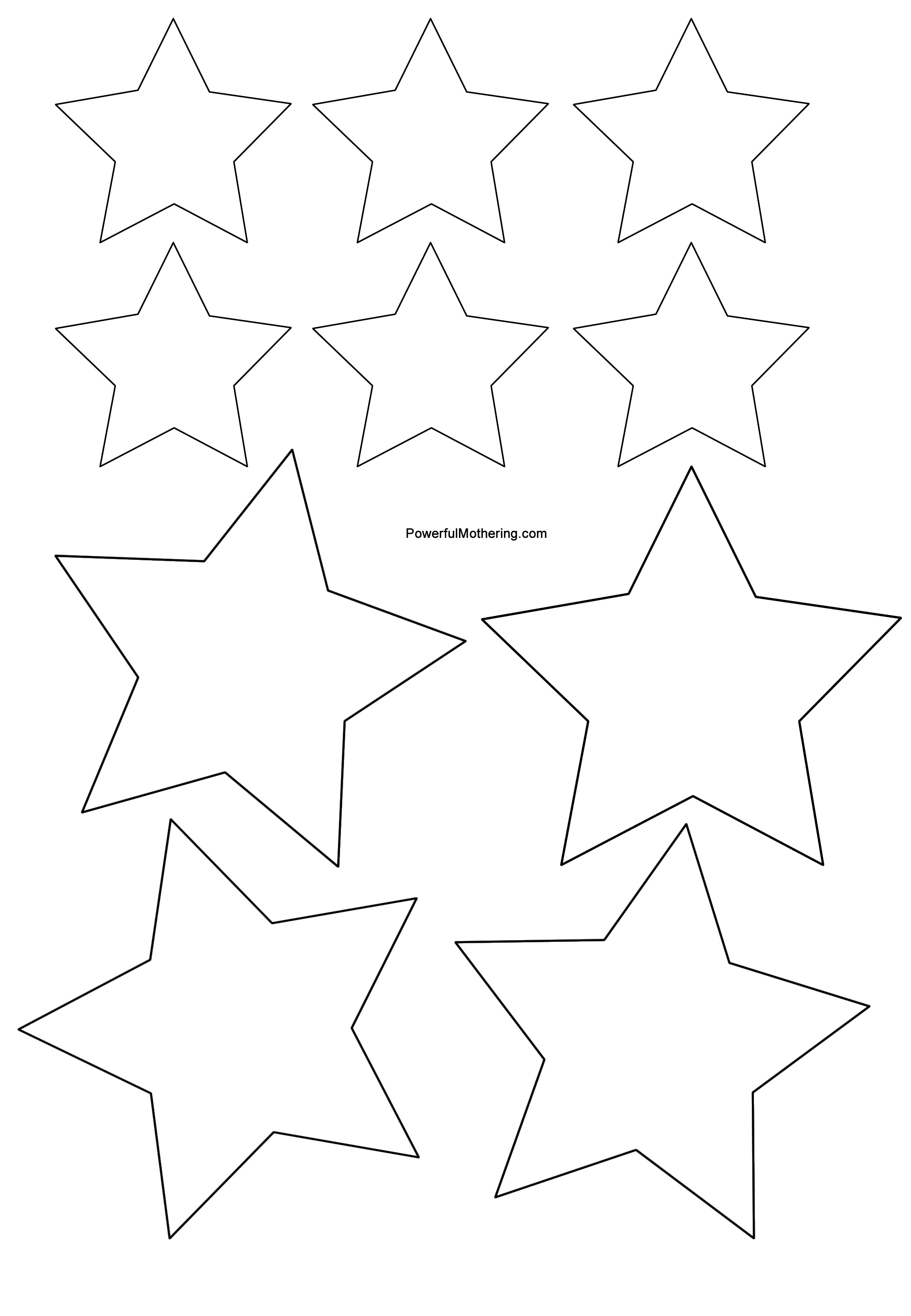 Free Printable Star, Download Free Clip Art, Free Clip Art On - Free Printable Cookie Stencils