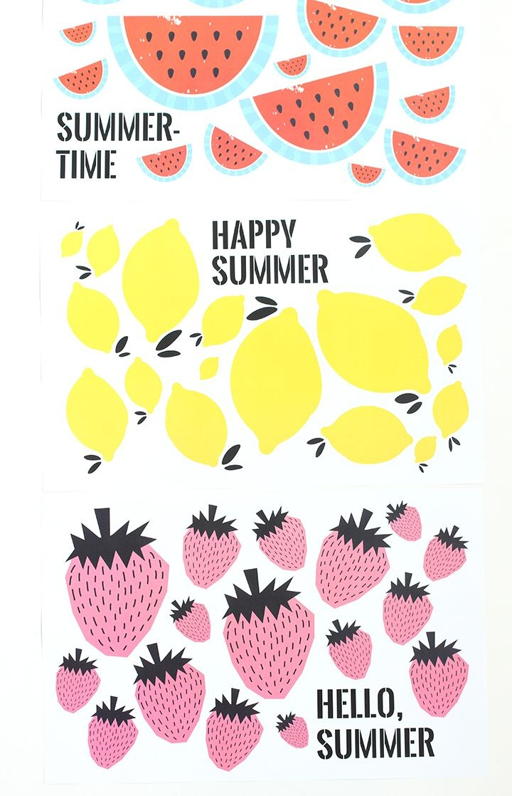 Free Printable Summer Pictures