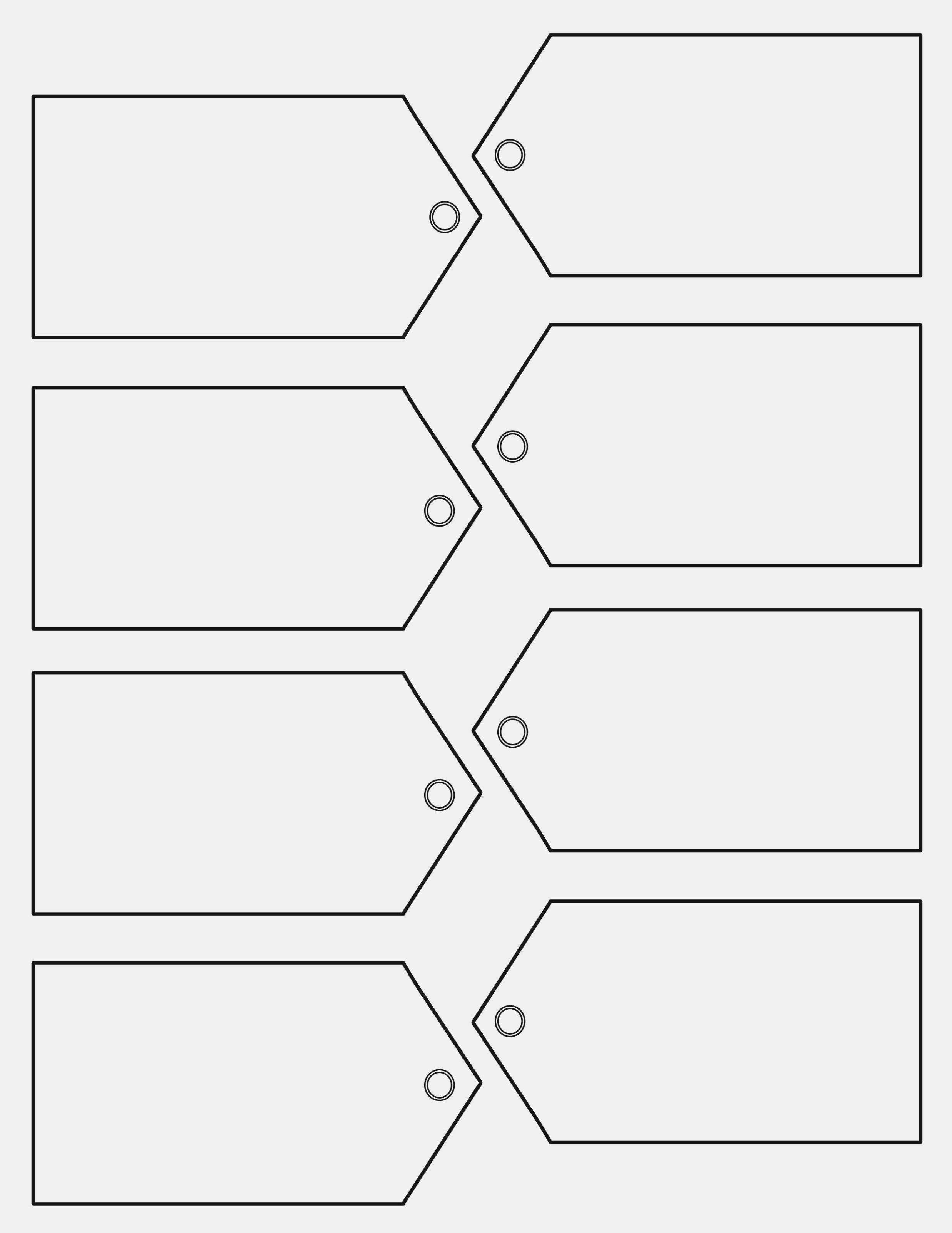 Free Printable Tag Templates 10 | Printable And Formats – Printable - Free Printable Price Labels
