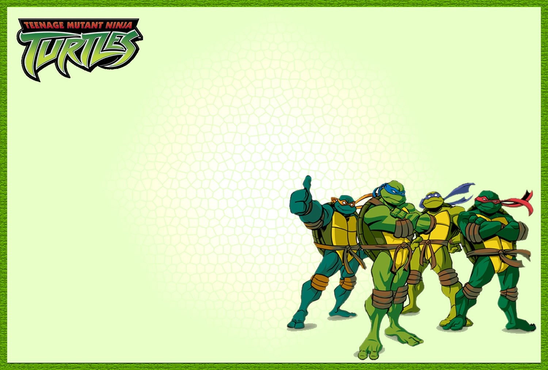 Free Printable Teenage Mutant Ninja Turtle Birthday Invitations - Free Printable Tmnt Birthday Party Invitations