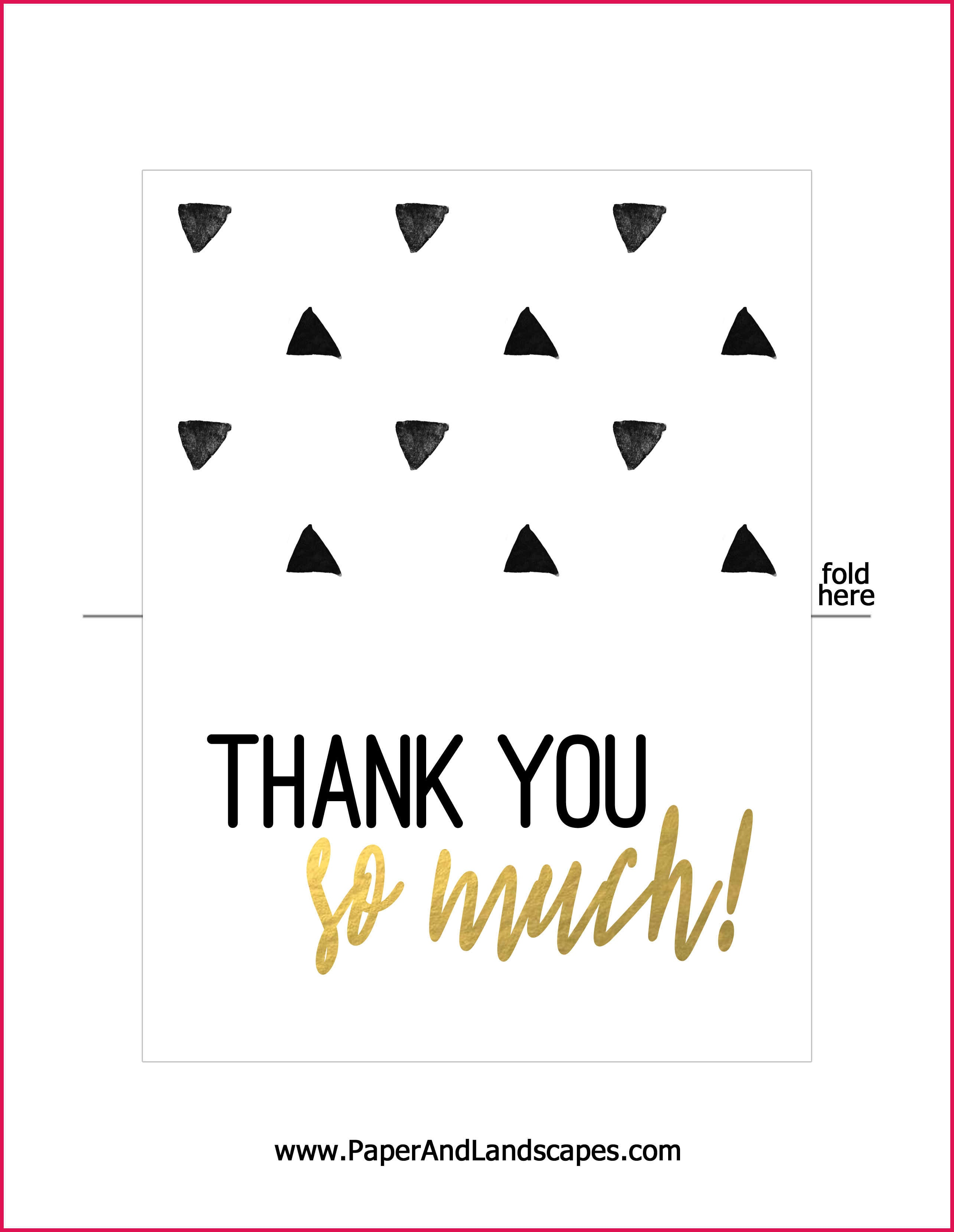 Free Printable Thank You Cards | Sop Examples - Free Printable Thank You