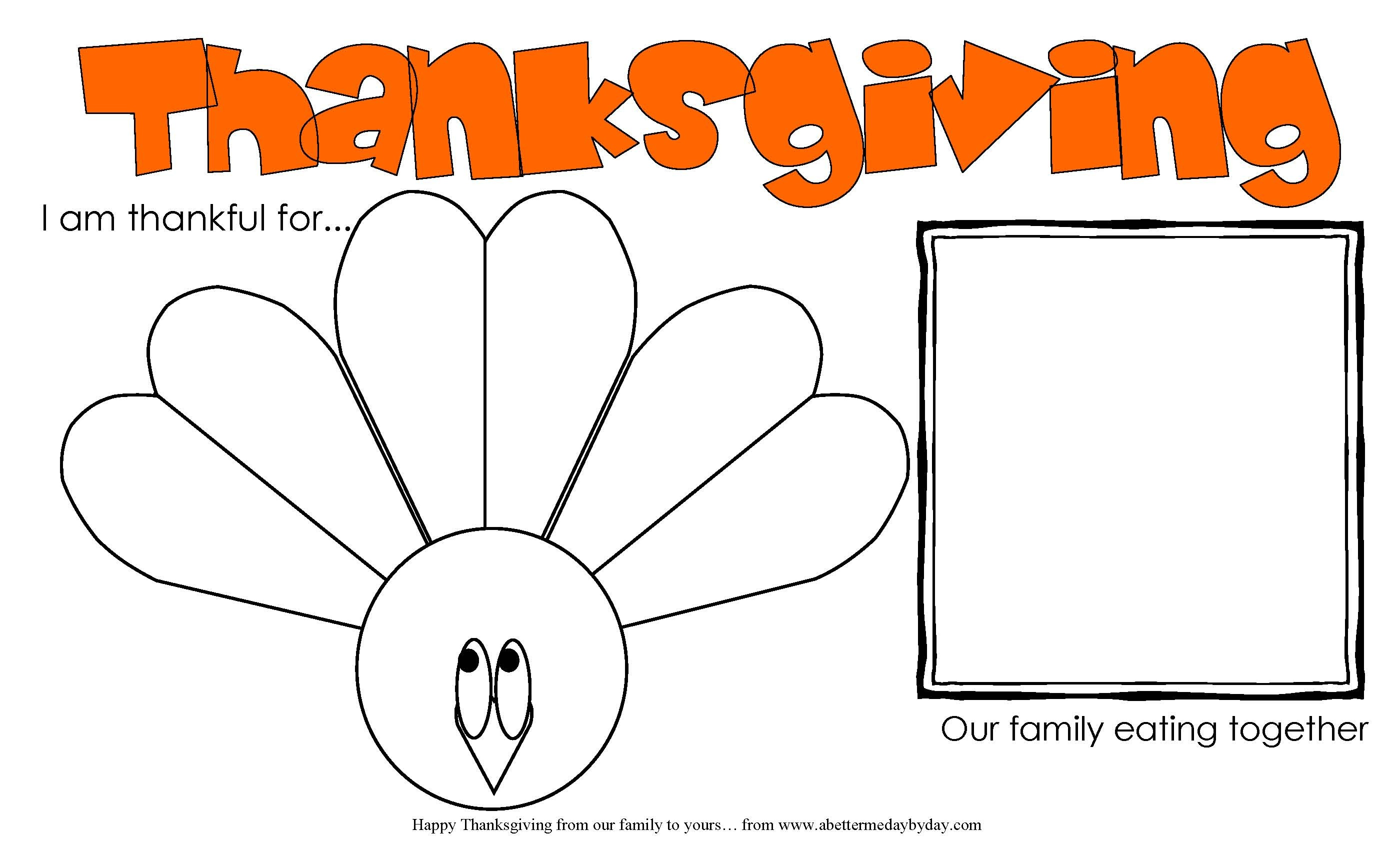 Free Printable: Thanksgiving Activity Place Mat For Kids And Adults - Free Printable Thanksgiving Activities For Preschoolers