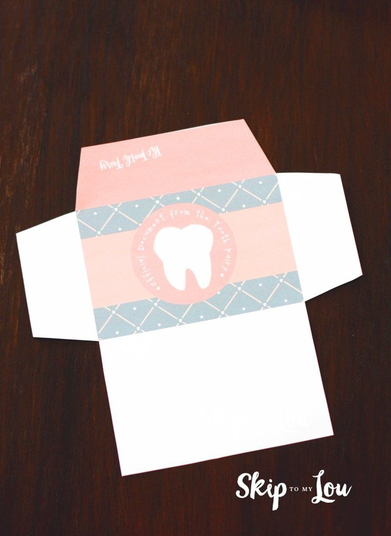 Free Printable Tooth Fairy Letter With Matching Enevelopes | Hair - Free Printable Tooth Fairy Letter And Envelope