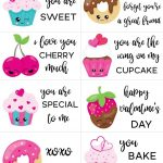 Free Printable Valentine Cards For Kids | Holidays & Parties | Free   Free Printable Valentines Day Cards Kids