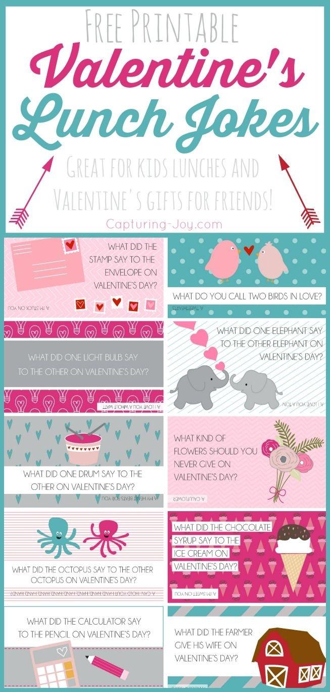 Free Printable Valentine Jokes | All Time Favorite Crafts & Diy - Free Printable Jokes For Adults