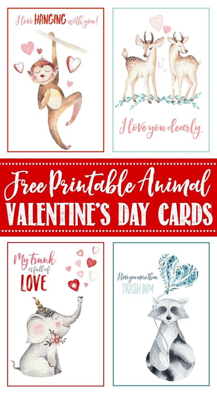 Free Printable Valentine's Day Cards And Tags - Clean And Scentsible - Free Printable Valentines Day Cards For Mom And Dad